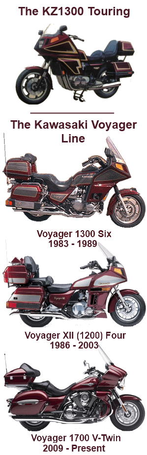 Ava kawasaki voyager history a brief history of the kawasaki voyager line of motorcycles publicscrutiny Choice Image